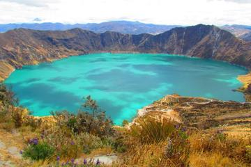 Quilotoa Lagoon and Indian Markets in