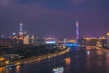 Pearl River Night Cruise in Guangzhou with Private Transfer