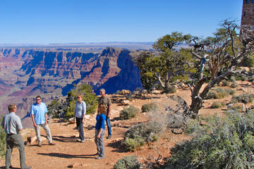 Tour in Jeep del Grand Canyon South Rim con trasporto da Tusayan