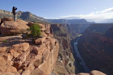 Trajet en Jeep sur le plateau est du Grand Canyon et film IMAX