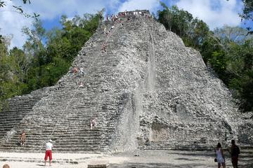 Coba, Tulum, Cenote and Mayan Village Day Trip with Lunch