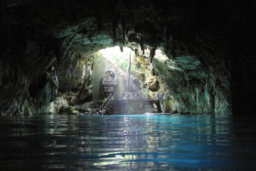 Exclusive one day private tour from Cancun or Riviera Maya Cuzama jungle cenotes and Izamal with lunch