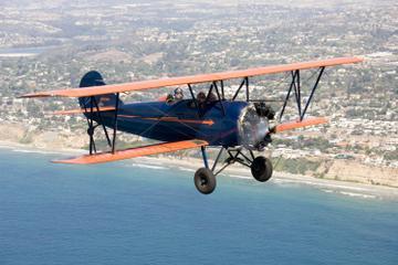 Book Open Cockpit Biplane Sightseeing Ride in San Diego on Viator
