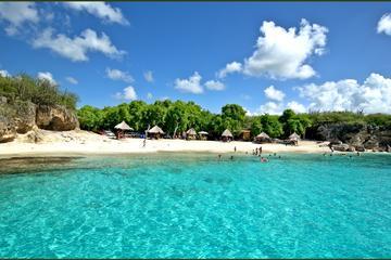 Excursión a Curaçao Beach y cuevas de...