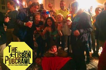 Pub crawl em Lisboa