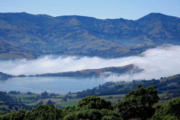 Akaroa Harbour and Banks Peninsula...