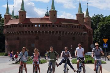 Excursión turística en bicicleta por Cracovia