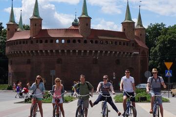 Sightseeingtur i Krakow med cykel