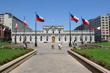 Private Santiago City Half Day Tour