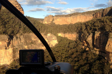 Blue Mountains 4WD-ecotour en helikoptervlucht