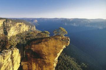 Schilderachtige helikoptervlucht vanuit Sydney naar Blue Mountain