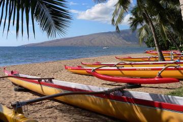 Aventura com canoa havaiana e mergulho com snorkel no Havaí