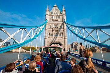オリジナルロンドン市内観光バスツアー:乗り降り…