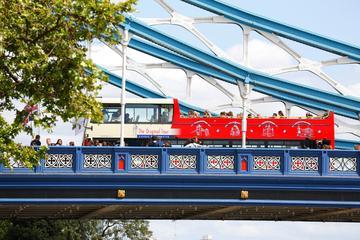 Klassisk sightseeingtur i London: hoppa på/hoppa av-buss