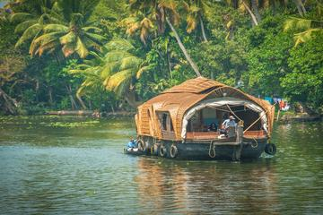 Private Overnight Alleppey Premium Houseboat Cruise from Kochi