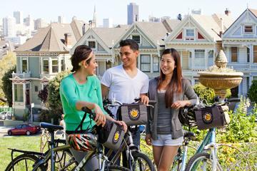 Excursão urbana de bicicleta em São Francisco