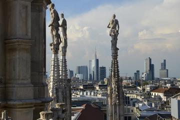 Evite as filas: Excursão pelo terraço da Catedral Duomo com...