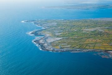 Voo panorâmico pelas ilhas de Aran e excursão em Galway saindo de...