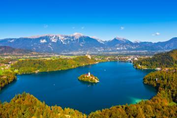 Excursão à Bled e Vale Bohinj saindo...