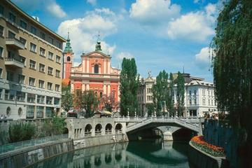 Recorrido a pie por Liubliana con paseo en funicular al castillo de...