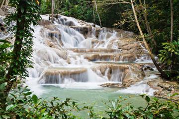 Excursion combinée en Jamaïque: chutes du fleuve Dunn et Nine Mile...