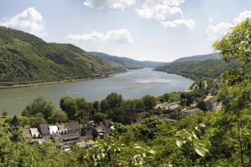KD Rhein Pass - nostalgische Strecke - Rhein-Bootstour von Koblenz...