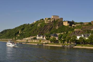 Rhein-Bootstour von Koblenz nach Boppard: Festung Ehrenbreitstein und...