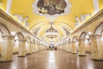 Moscow Metro and Stalin Skyscrapers Tour
