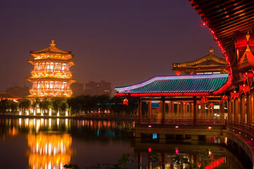 Xian Evening Tour at Tang Paradise with Waterscape Show