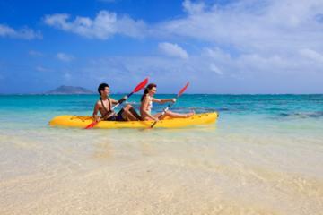 Aventura de buceo, senderismo y kayak...