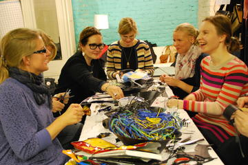 Upcycling-Design Workshop in Helsinki