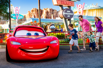 4-Tage-Disneyland Resort-Ticket