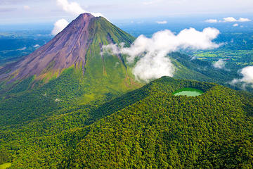 Two Volcanoes Extreme Hike in Arenal