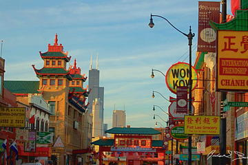 Chicago Tastes of Chinatown Walking...