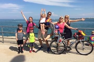 Excursão de bicicleta para crianças