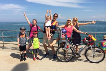 Excursión en bicicleta para niños