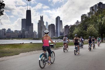Excursión en bicicleta por Chicago...