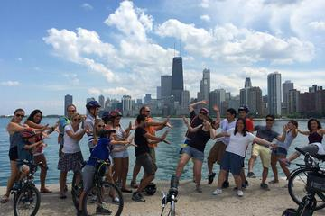 Tour in bicicletta dei quartieri fronte lago di Chicago