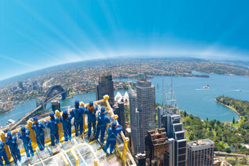 Sydney Skywalk in de Sydney Tower Eye