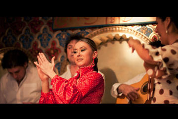 Flamenco Show and Special Menu at Torres Bermejas in Madrid