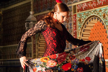 Spectacle de flamenco et menu spécial...