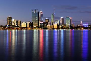 Dîner-croisière à Perth, ville des lumières