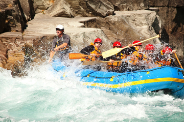Wildwasser-Rafting auf dem Kawarau River in Queenstown