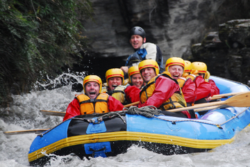 Wildwasser-Rafting auf dem Shotover River in Queenstown
