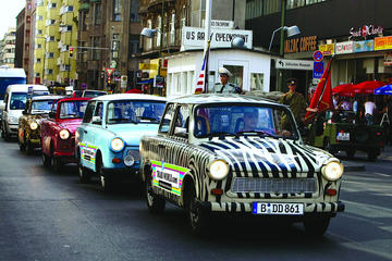Berlin City Live-Guided Self-Drive Trabi Safari Tour
