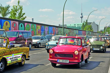 Berlin Wall Self-Drive Trabant Tour in Berlin