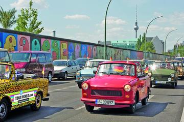 Excursion de conduite de Trabant vers le mur de Berlin à Berlin