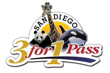 Passe San Diego 3 en un: SeaWorld, zoo de San Diego et parc-safari