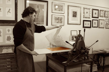 Art Workshops: Create Original Etching in a Typical Florentine Bottega
