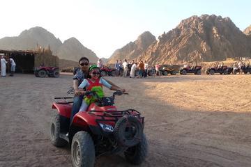 Quad Biking Adventure from Sharm El Sheikh Private